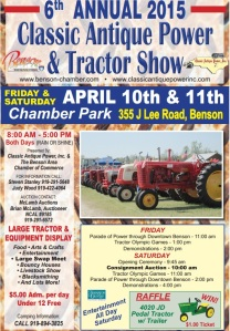2015 Tractor Show Flyer
