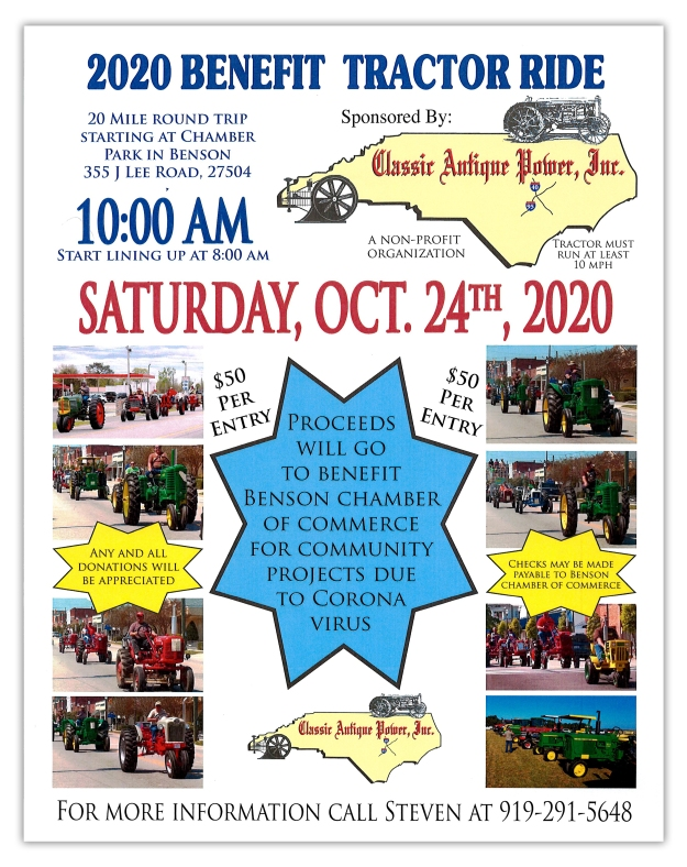 2020 Benefit Tractor Ride